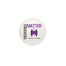 MemoriesMatter Alzheimer's Mini Button (10 pack)