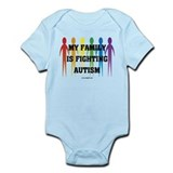 Fighting Autism Onesie
