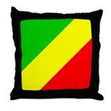 Congolese Throw Pillow