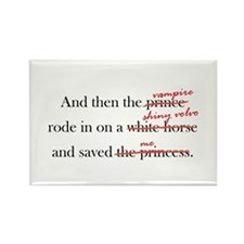 White Horse Rectangle Magnet (10 pack)