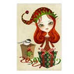 Jollybelle Christmas Greeting Postcards (Pk of 8)