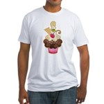 Scrumptious Cupcake Fitted T-Shirt