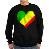 I Love CONGO BRAZZAVILLE Sweatshirt