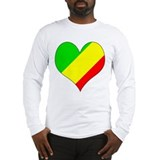 I Love CONGO BRAZZAVILLE Long Sleeve T-Shirt