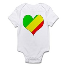 I Love CONGO BRAZZAVILLE Infant Bodysuit