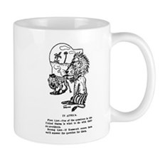 03/28/1909: Teddy to Africa Mug