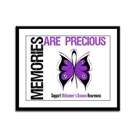 Memories Are Precious Framed Panel Print