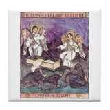 He is not Here - He is Risen! Tile Coaster