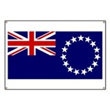 cook islands Flag Banner