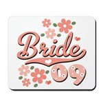 Pretty Pink 09 Bride Mousepad