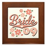 Pretty Pink 09 Bride Framed Tile