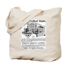 03/28/1909: Woodland Heights Tote Bag