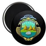 "Coat of Arms of Costa Rica 2.25"" Magnet (10 pack)"