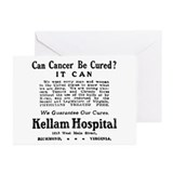 03/28/1909: Cancer Cure Greeting Cards (Pk of 10)