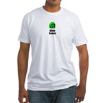 Alien Gamer Fitted T-Shirt