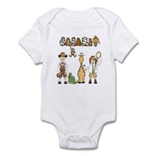 Safari Infant Bodysuit