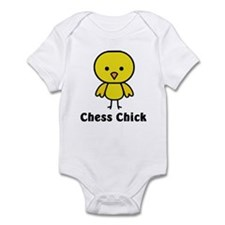 Chess Chick Infant Bodysuit