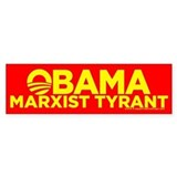 Obama, Marxist Tyrant Bumper Bumper Sticker