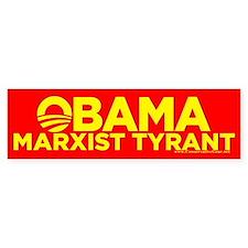 Obama, Marxist Tyrant Bumper Bumper Sticker