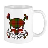 MacDuff Tartan Skull Coffee Mug
