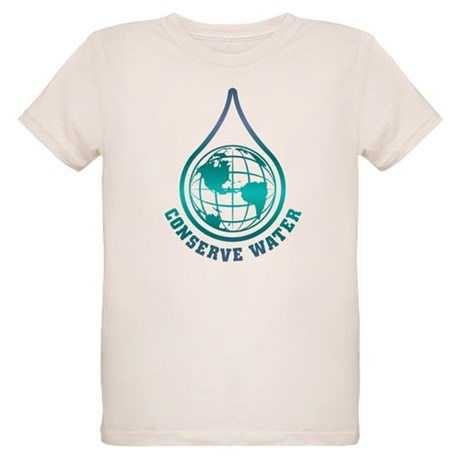 Conserve Water Organic Kids T-Shirt