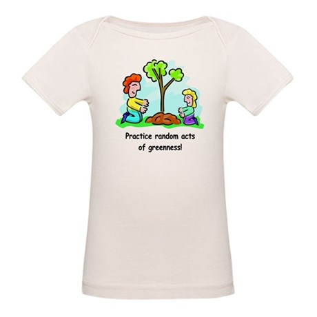 Earth Day Organic Baby T-Shirt