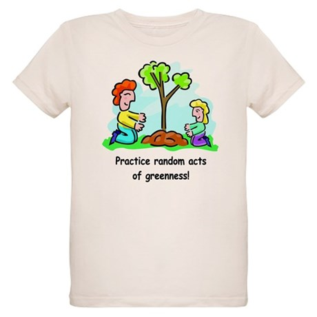 Earth Day Organic Kids T-Shirt