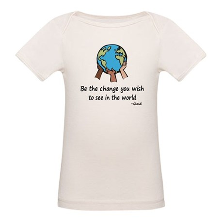 Be the Change Organic Baby T-Shirt