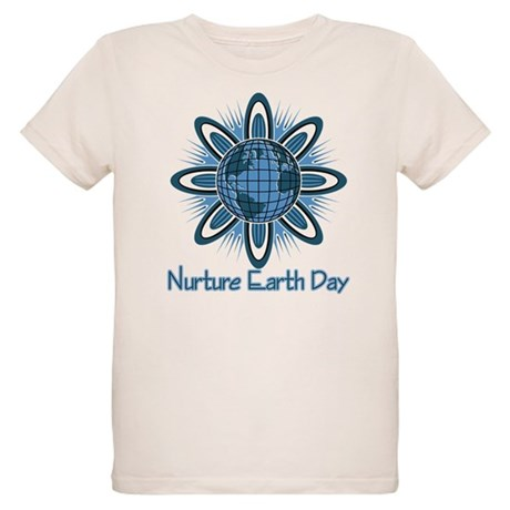 Nurture Earth Day Organic Kids T-Shirt