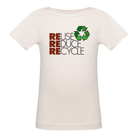 Reuse Reduce Recycle Organic Baby T-Shirt