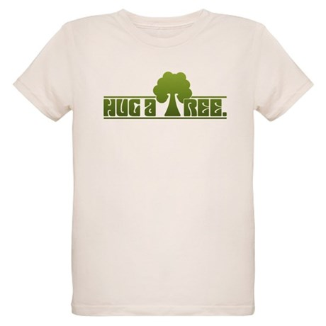 Hug a Tree Organic Kids T-Shirt