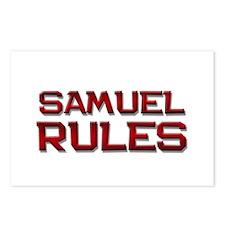 samuel rules Postcards (Package of 8)
