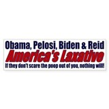Scare the Poop out of you... Bumper Sticker