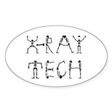 X-Ray Tech Oval Decal