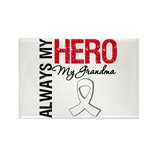 LungCancerHeroGrandma Rectangle Magnet