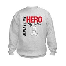 LungCancerHeroFather Sweatshirt