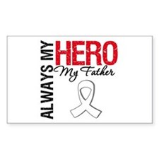 LungCancerHeroFather Rectangle Decal