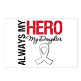 LungCancerHeroDaughter Postcards (Package of 8)