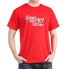Future Trophy Wife Black T-Shirt
