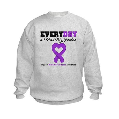 Alzheimer's MissMyGrandma Kids Sweatshirt