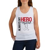 Lung Cancer Hero Dad Women's Tank Top