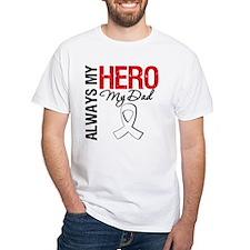 Lung Cancer Hero Dad Shirt