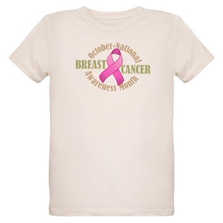 Breast Cancer Month Organic Kids T-Shirt