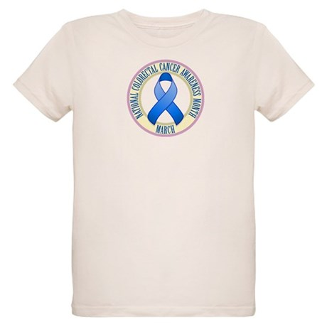 Colorectal Cancer Month Organic Kids T-Shirt