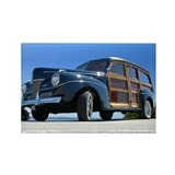 1940 Ford Woody Rectangle Magnet