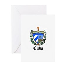 Cuban Coat of Arms Seal Greeting Card