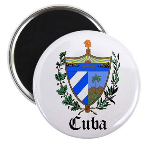"Cuban Coat of Arms Seal 2.25"" Magnet (10 pack)"
