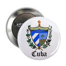 """Cuban Coat of Arms Seal 2.25"""" Button (10 pack)"""