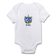Cuban Coat of Arms Seal Infant Bodysuit
