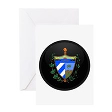 Coat of Arms of Cuba Greeting Card